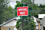 Wrong.Way